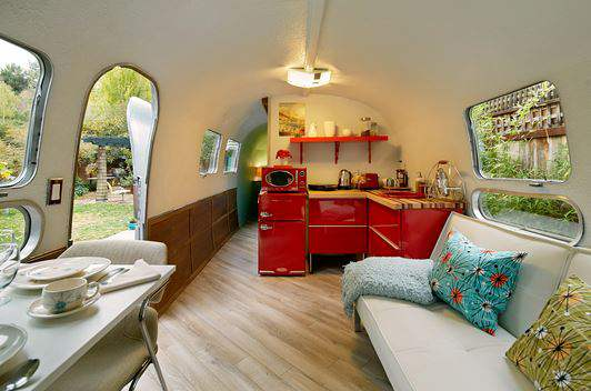 These Camper Renovations Are Makeovers Of Quintessential Airstream  Trailers, With Their Telltale Stainless Steel Accents And Domed Roofs.